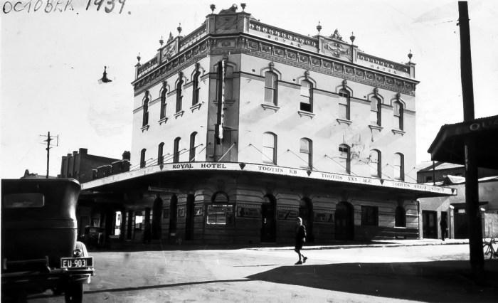 Royal Hotel Granville 1939 anu