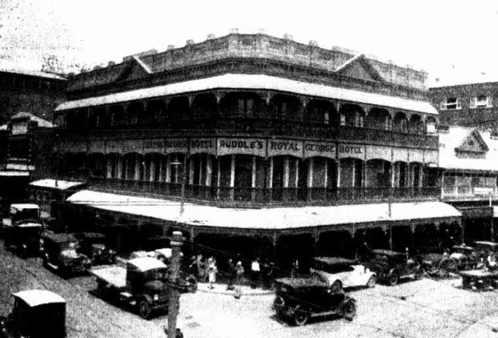 royal george hotel fortitude valley 1936