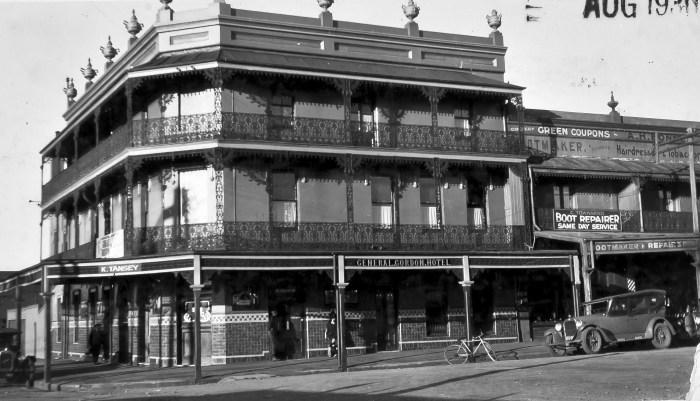 General Gordon Hotel old pub 1930