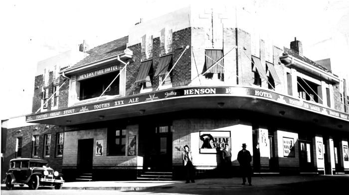 Henson Park Hotel 1930 anu