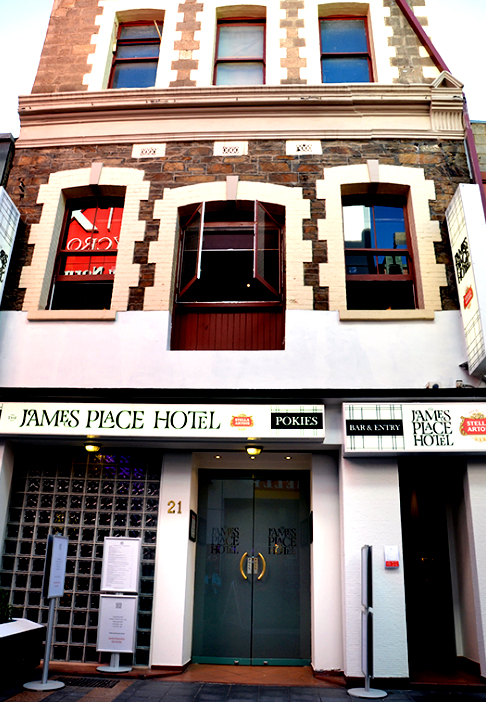 James Place Hotel Adelaide 2017