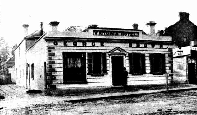 Victoria Hotel Daylsford Victoria 1900