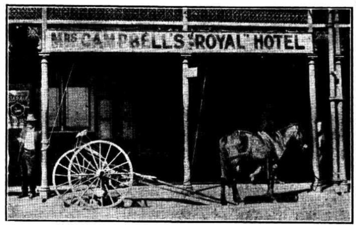 royal hotel lismore 1931