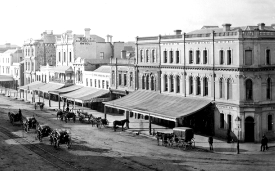 southern cross hotel adelaide 1880s