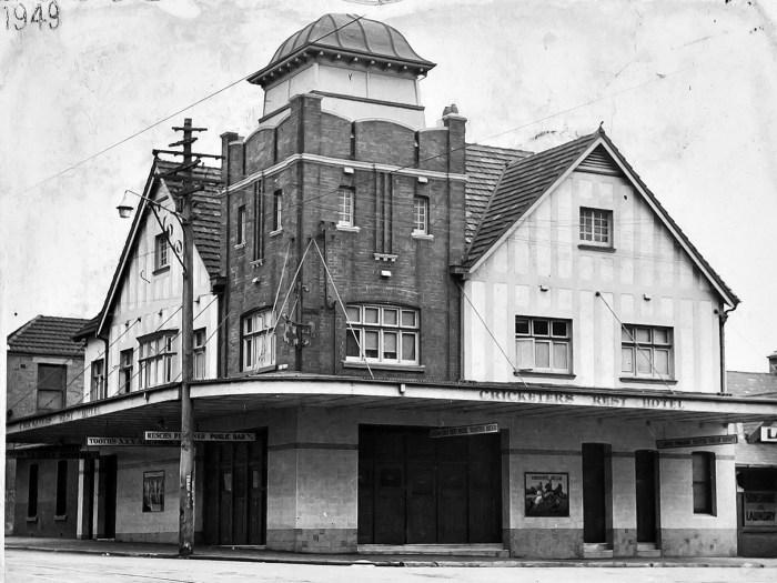 Cricketers Rest Hotel Pitt Street Redfern 1949 ANU
