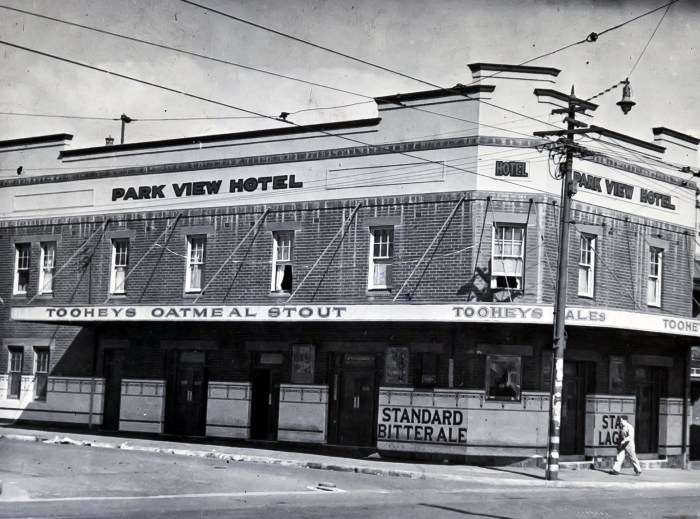 Park View Hotel Alexandria 1949 ANU