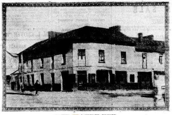 tattersalls hotel parramatta 1927