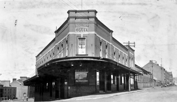 Australian Hotel The Rocks Sydney September 1935 ANU