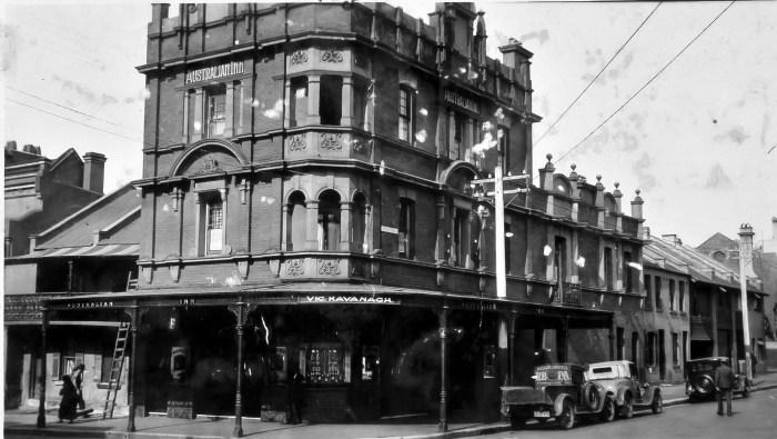 Australian Hotel Woolloomooloo August 1930 ANU