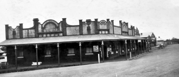 Commercial Hotel Millthorpe 1930 anu