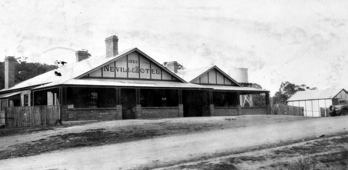 Neville Hotel Neville NSW 1930 ANU