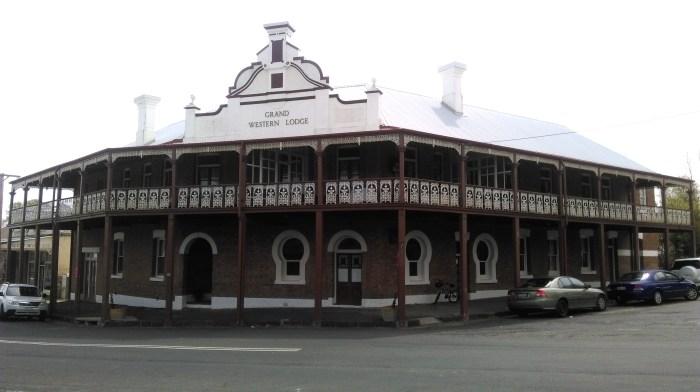 grand western hotel FORMER Millthorpe NSW 2017 TG