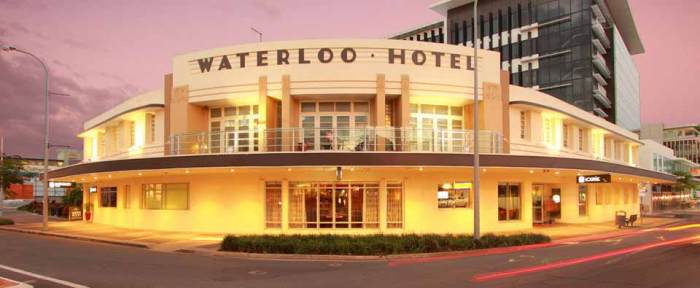 waterloo hotel fortitude Valley qld