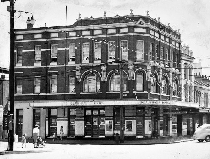 Beauchamp Hotel Paddington NSW 1949 ANU