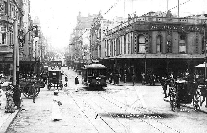 Belfields Hotel Sydney trams