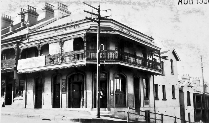 Bridge Hotel Forest Lodge NSW Aug 1930 ANU
