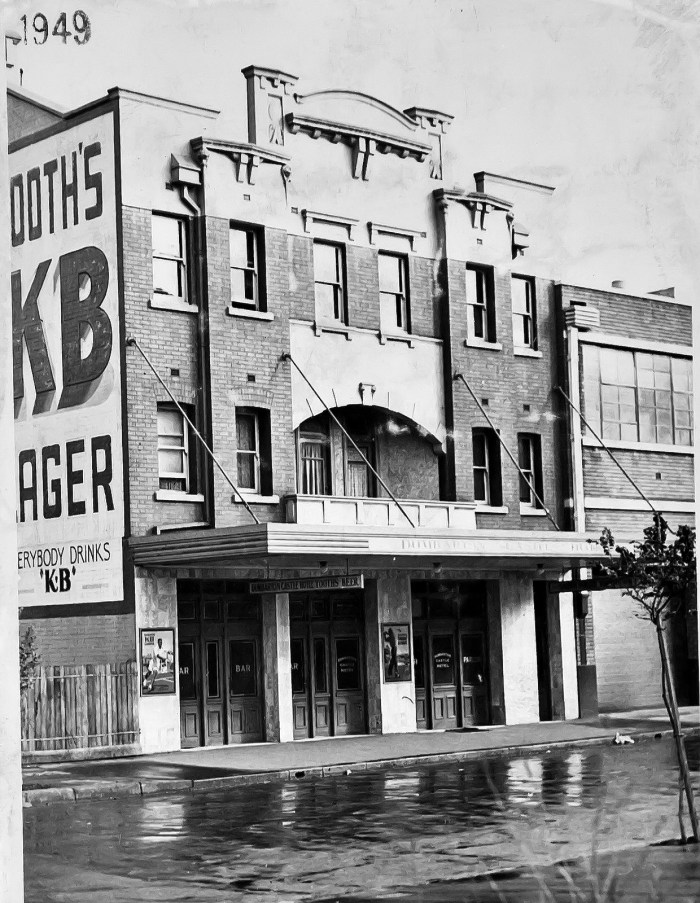 Dumbarton Castle Hotel Millers Point Sydney 1949 ANU