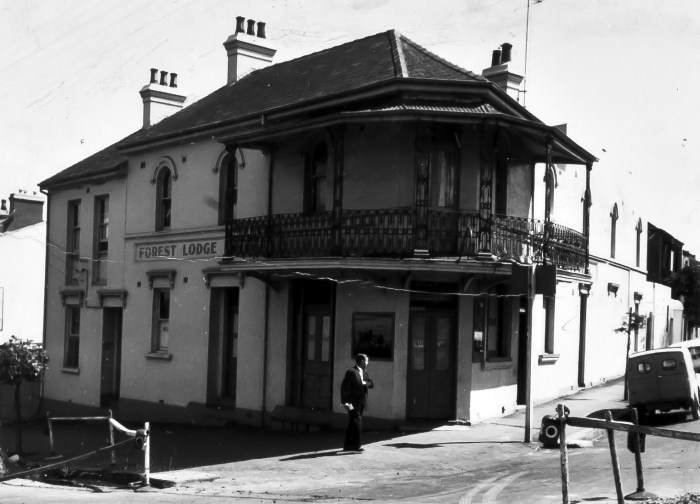 Forest Lodge Hotel Forest Lodge 1965 ANU