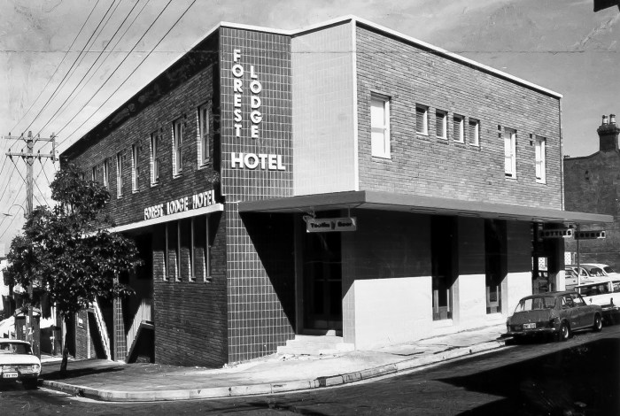 Forest Lodge Hotel Forest Lodge NSW 1966 ANU