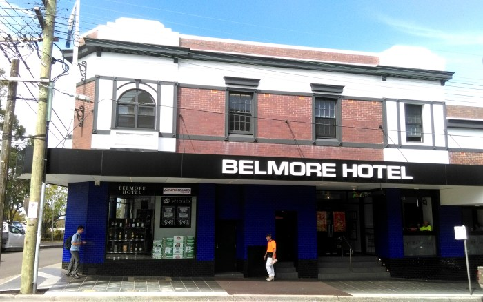 belmore hotel nsw 2018