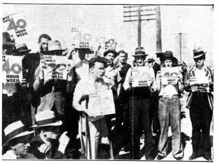 castlemain perkins brewery strikers 1937