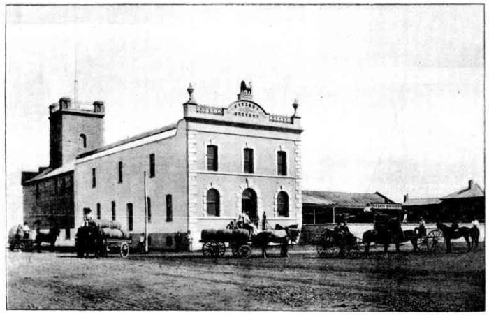 Fitzroy Brewery Rockhampton qld 1895