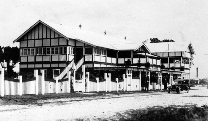 surfers paradise hotel southport qld 1928