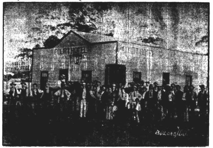 Court Hotel Bulong WA 1897