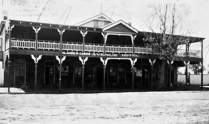 The Avenue Hotel Coonamble1936 ANU