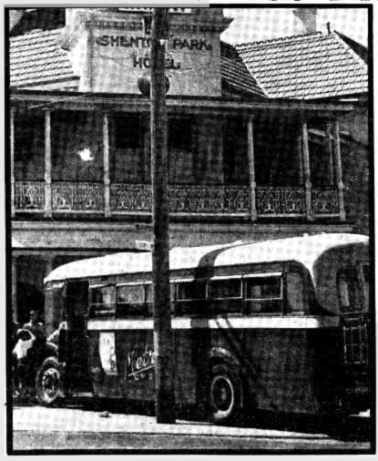 shenton park hotel bus crash 1942