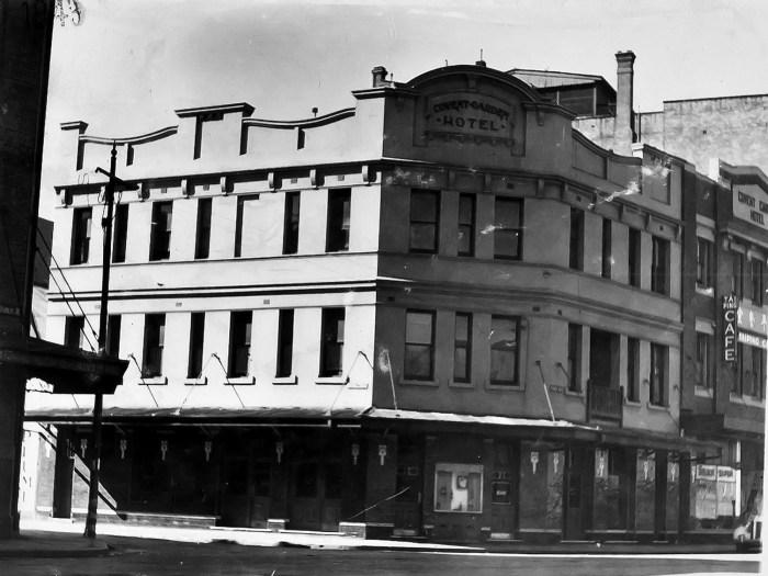 Covent Garden Hotel Haymarkey Sydney 1949 ANU