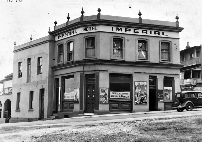 Imperial Hotel North Sydney 1949 anu