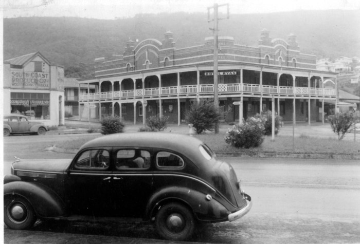 Ryan Hotel Thirroul 1949 ANU