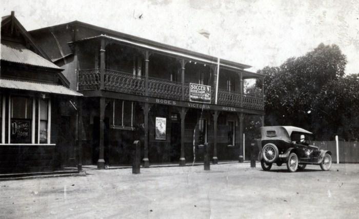 North Wollongong Hotel Wollongong 1924 ANU