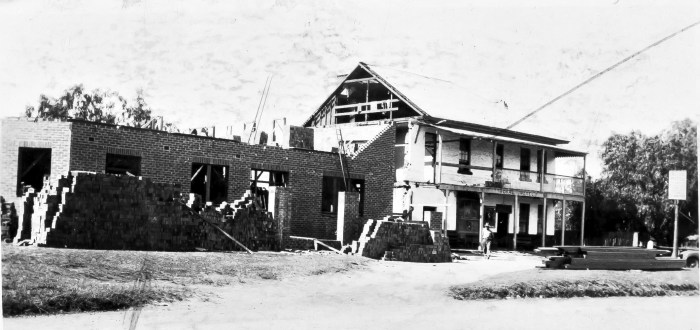 Appin Hotel Appin NSW under construction 1930 ANU