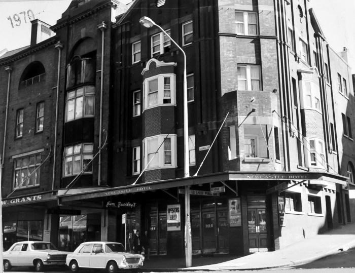 Newcastle Hotel Sydney 1970 anu