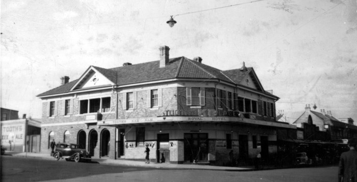 Royal Hotel Wollongong august 1936 ANU