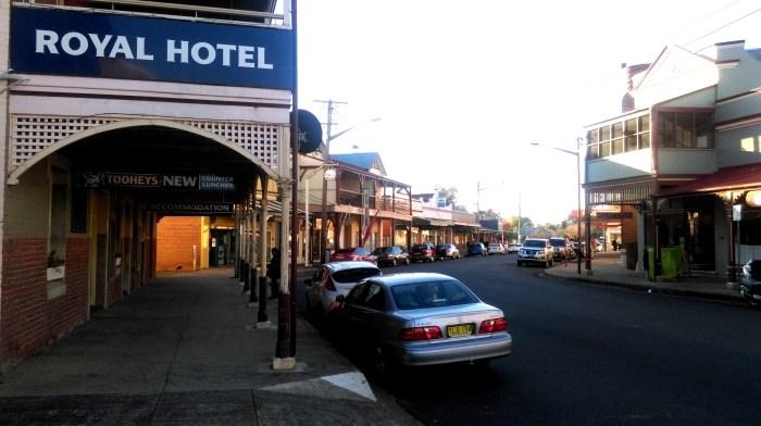 Royal Hotel main street canowindra nsw