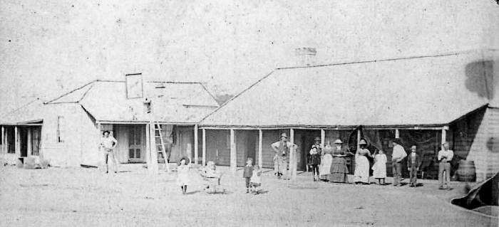 canowindra inn raided in 1863 by bushrangers