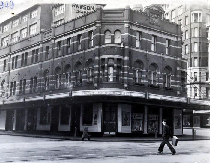 Prince of Wales Hotel Haymarket sydney 1942 anu