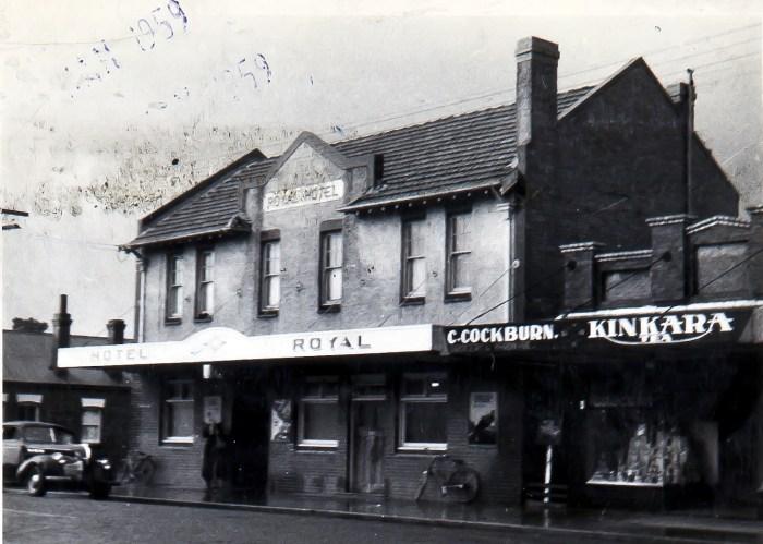 Royal Hotel Guyra 1959 anu