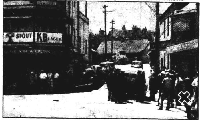 rose and crown paddington murder scene 1952