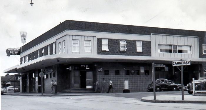 Cammeray Rex Hotel 1960 ANU