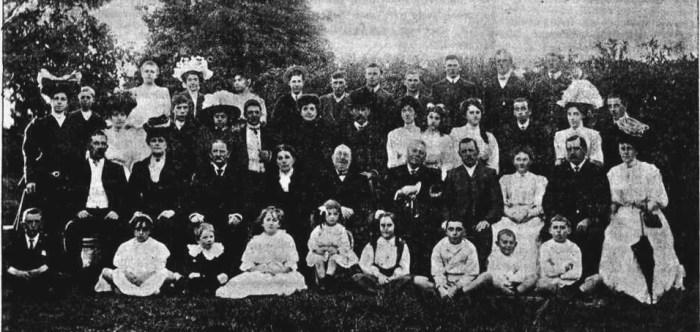 English Family Kogarah 1890