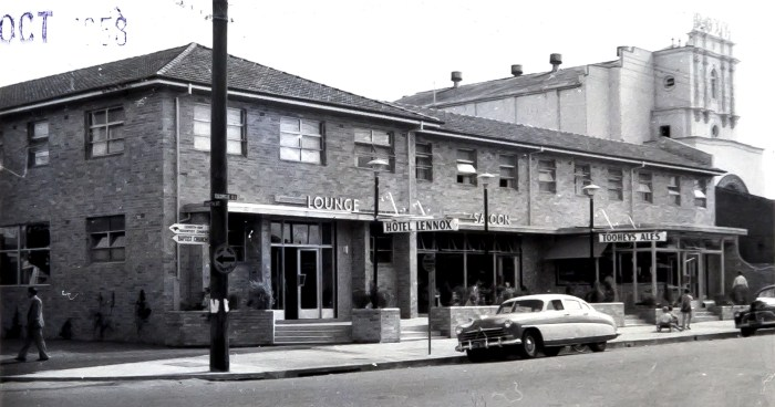 Lennox Hotel Parramatta October 1959 ANU