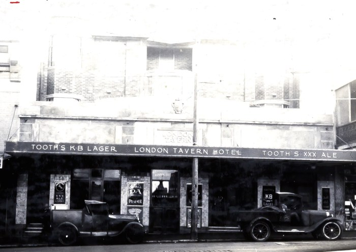 London Tavern Redfern 1931 ANU