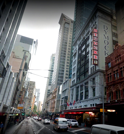 dymocks building georges street sydney google