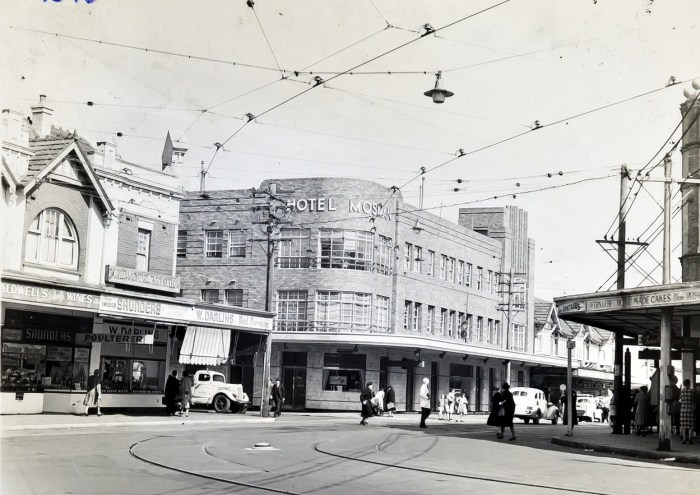 Mosman Hotel Mosman Sydney 1949 anu