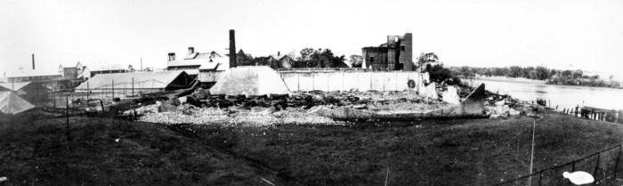 bundaberg distillery after fire 1936