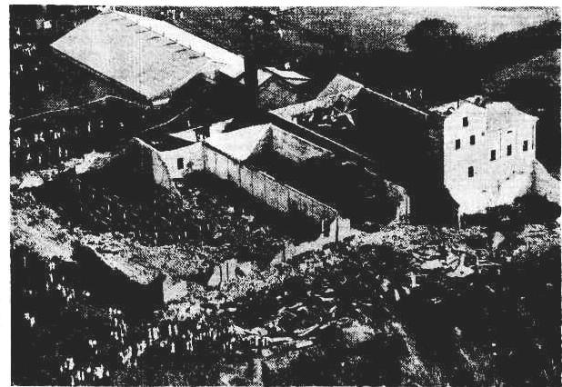 Bundaberg Distillery Fire